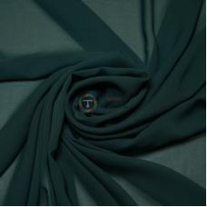 Одежный шифон однотонный (морская волна)