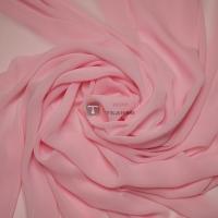 Одежный шифон однотонный (розовый)