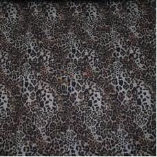 Ангора-софт принт (леопард на белом фоне)