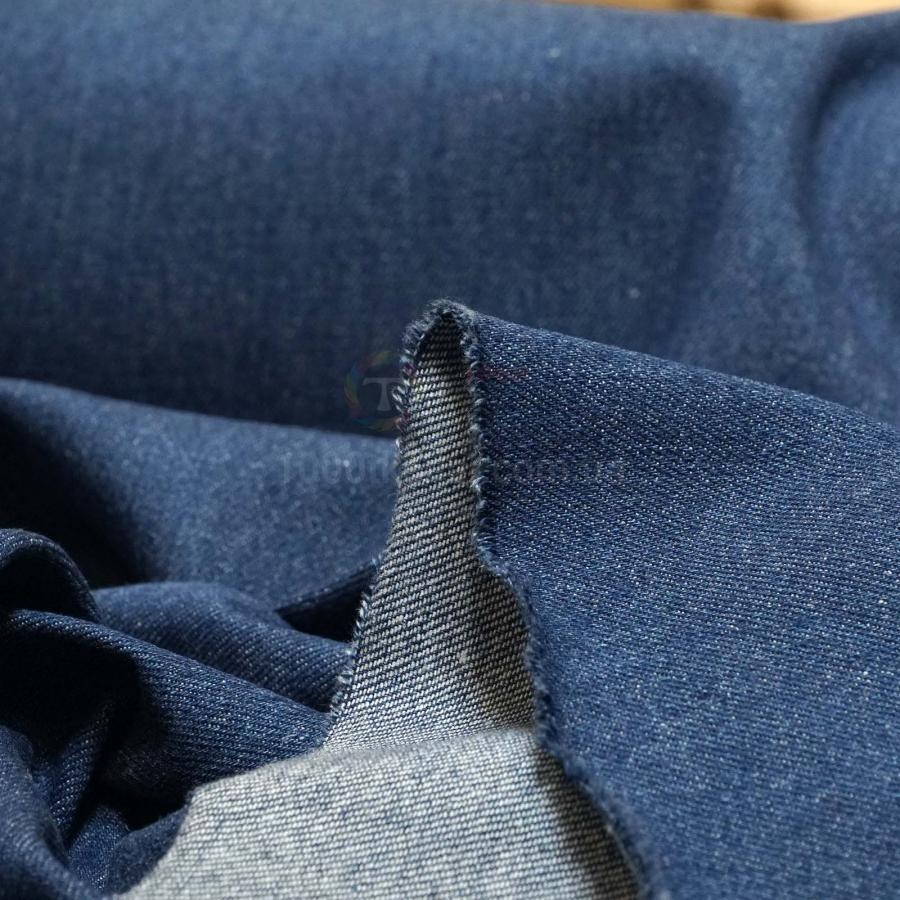 купить джинсовую ткань голубую