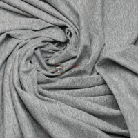 Кулир стрейч пенье (светло-серый меланж)